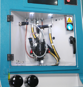 Injector Testing Chamber
