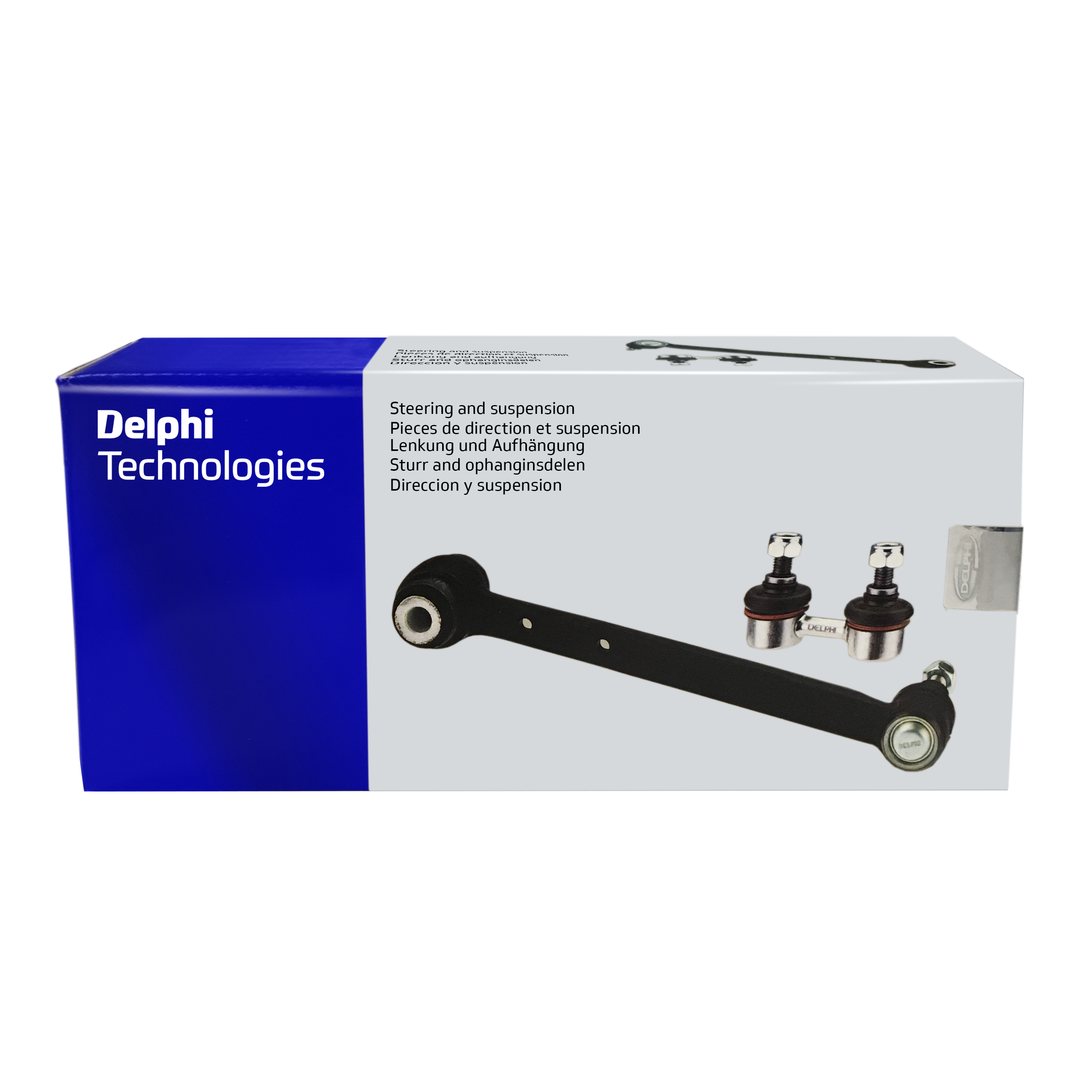 Delphi Technologies retail packaging