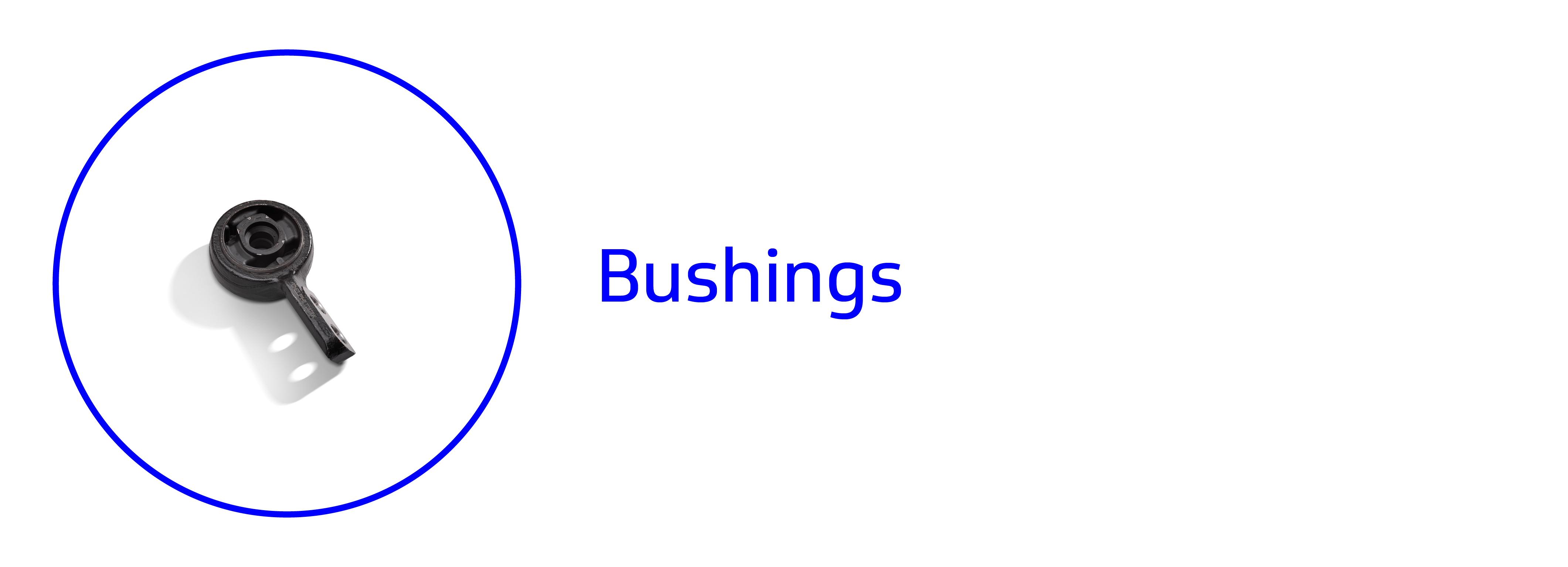 Banner showing a bushing