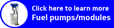 "D logo with text ""Click here to learn more fuel pumps and modules"""