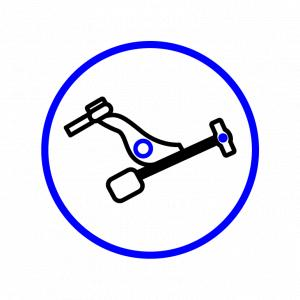 Icon of a control arm