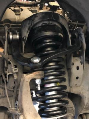 Control arm and strut