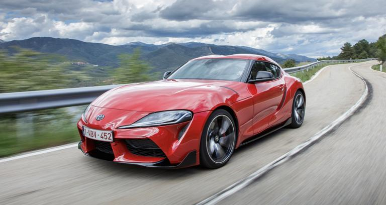 First to market brake pads for the new Toyota Supra