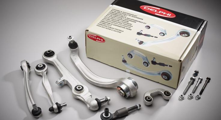 Steering and suspension kit