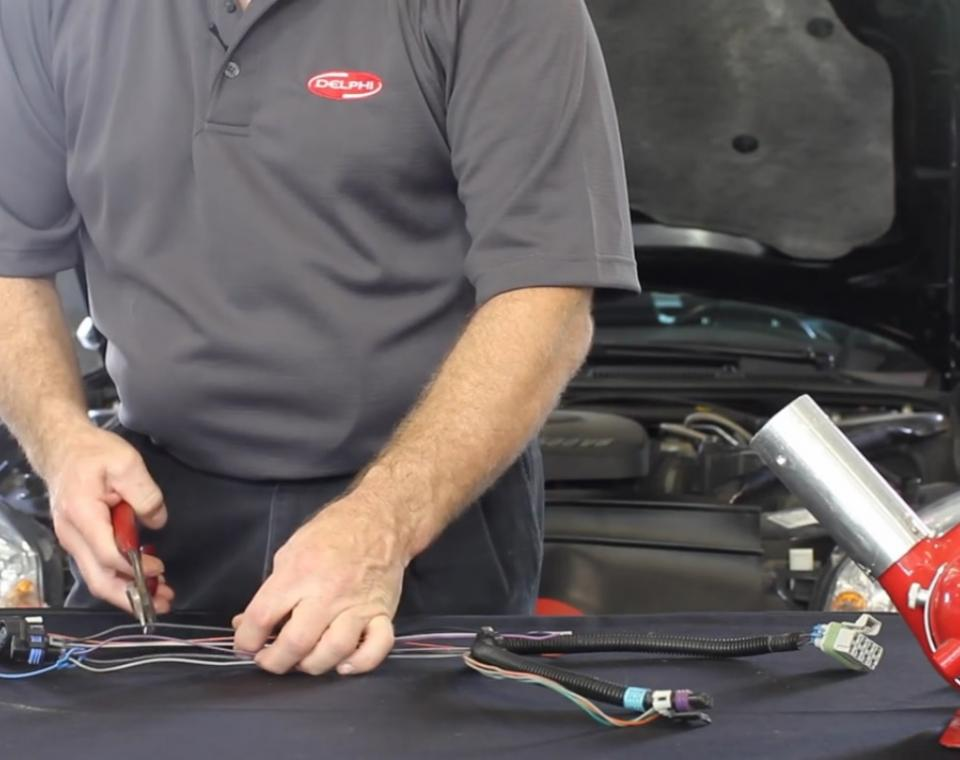 how to replace the wiring harness on your fuel pump delphi auto parts rh delphiautoparts com