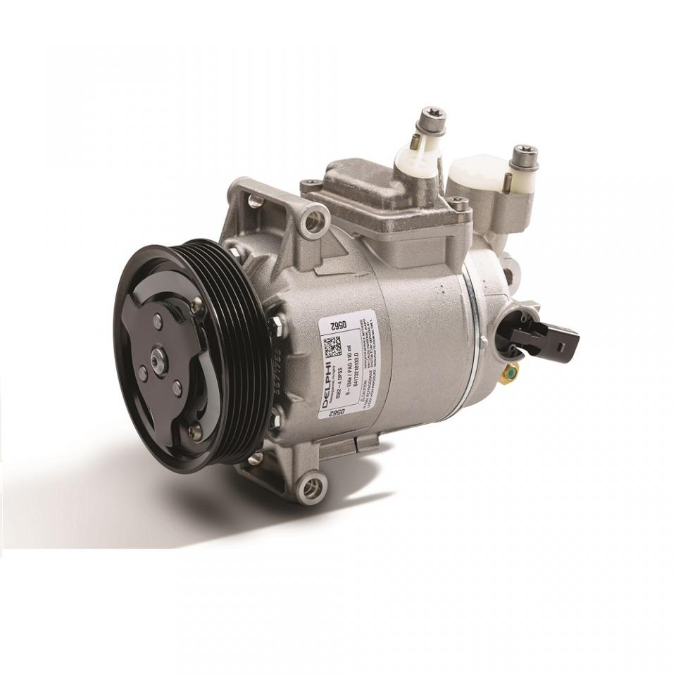 Vehicle air conditioning compressor